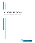 4 Trends to Watch: North American Surface Transportation