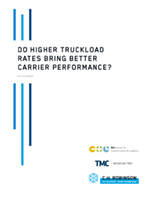 Do Higher Truckload Rates Bring Better Carrier Performance?