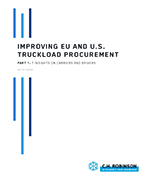 Improving EU and U.S. Truckload Procurement—Part 1: 7 Insights on Carriers and Drivers