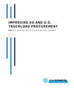 Improving EU and U.S. Truckload Procurement—Part 2: 6 Insights on Route Guides and Peak Seasons