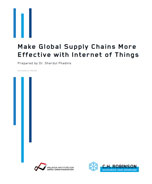 Make Global Supply Chains More Effective with Internet of Things