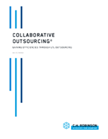 Collaborative Outsourcing: Gaining Efficiencies Through LTL Outsourcing