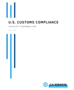 "U.S. Customs Compliance Your guide to ""reasonable care"""