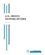 U.S.-Mexico Shipping Options