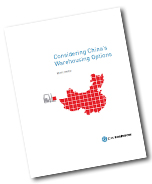 Considering China's Warehousing Options