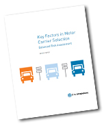 Key Factors in Motor Carrier Selection: Balanced Risk Assessment