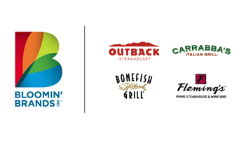 Bloomin' Brands logo and sub brand logos