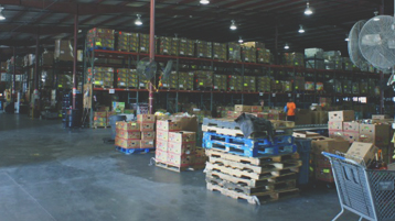 Warehouse | Photo credit: Harvest Time International Sanford, Florida