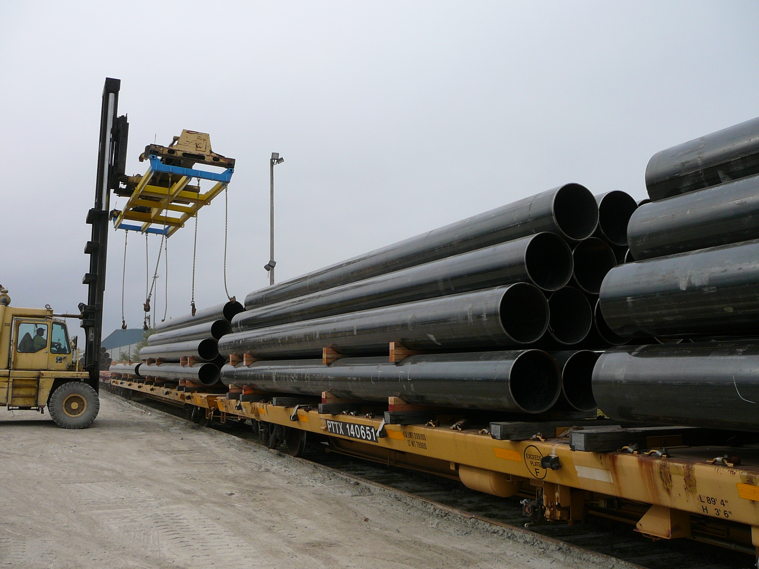 Steel mill delivery