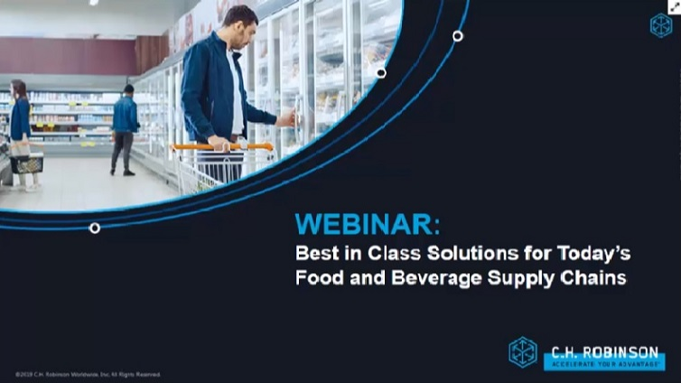 webinar best in class solutions for todays food and beverage supply chain