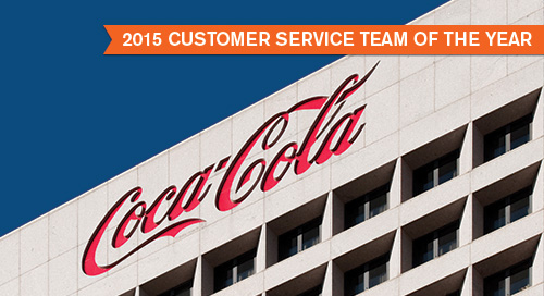 Coca-Cola - Customer Service Team of the Year