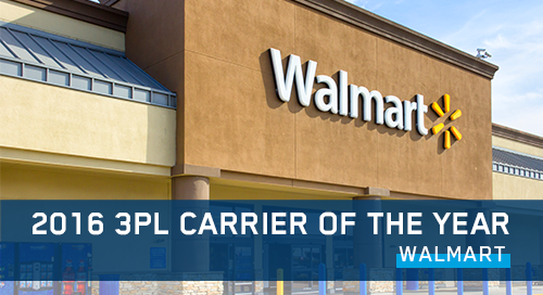 Walmart 3PL Carrier of the Year Award