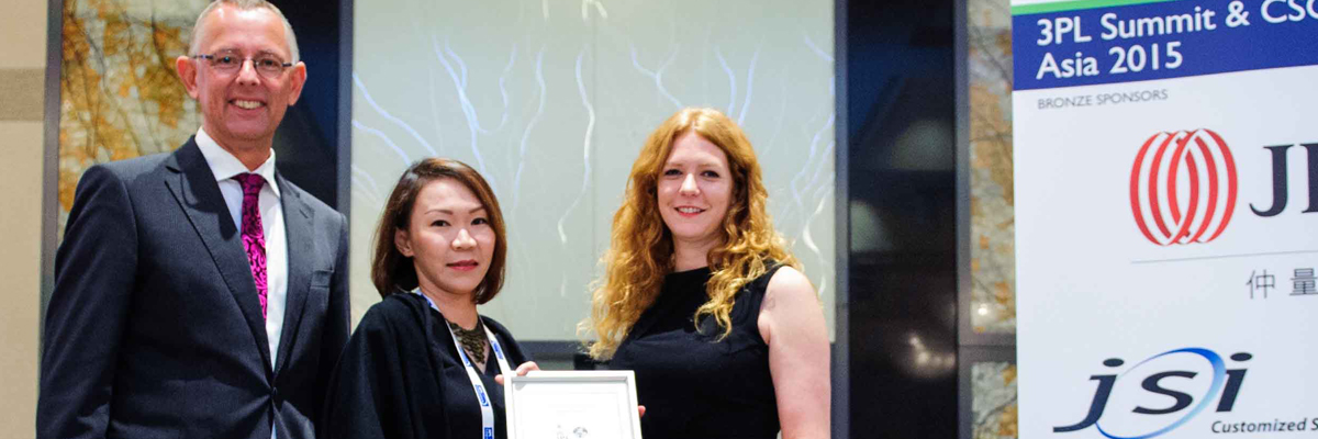 C.H. Robinson Named Best 3PL for Industrial Supply Chains in Asia