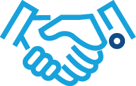handshake-on-contract-logistics-strategy-icon