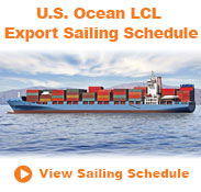 LCL Sailing Schedule