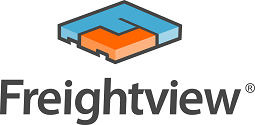 Freightview logo with text
